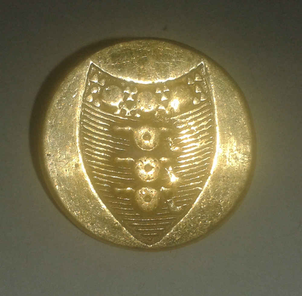 "Royal Artillery, Brass, 22mm (7/8"") Brass"