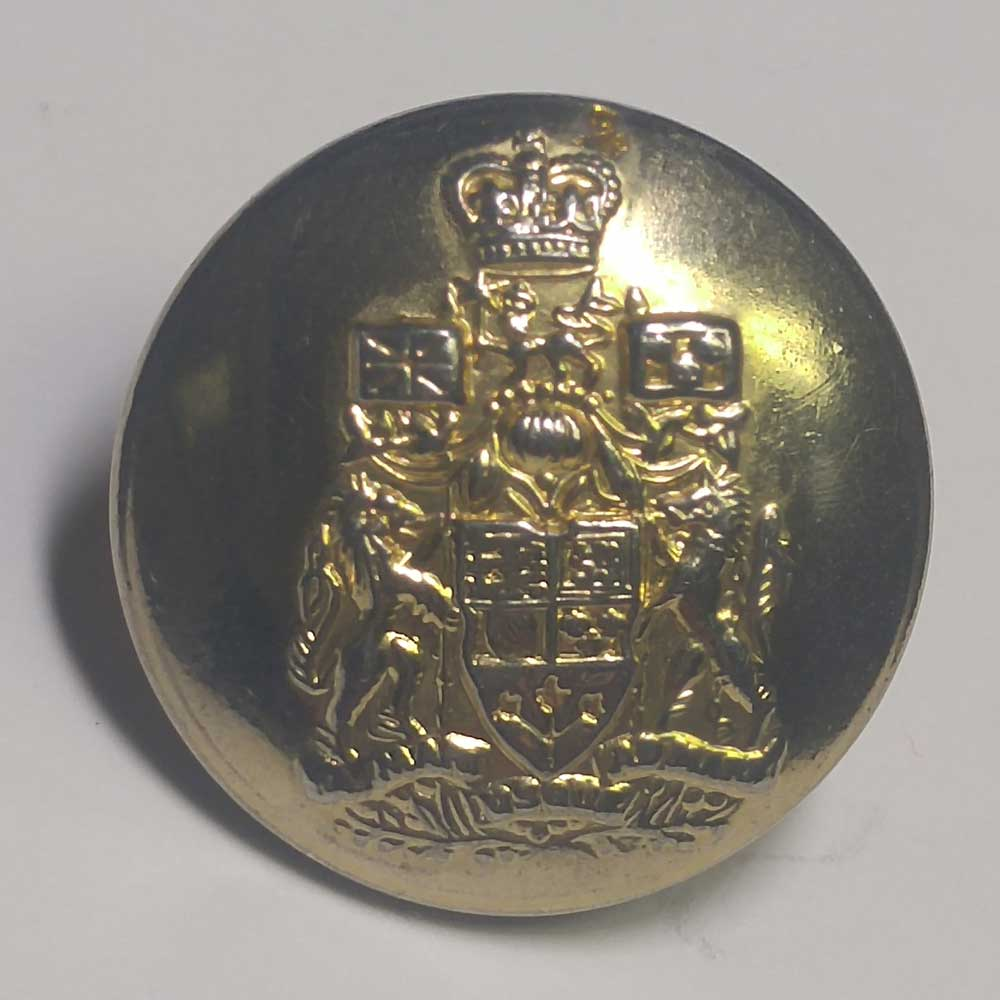 Canada, Coat of Arms, Gold, 7/8""