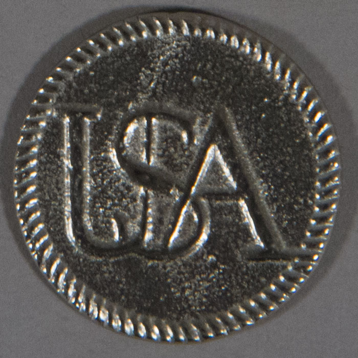 "Continental Army, USA, Pewter, 25mm (1"")"