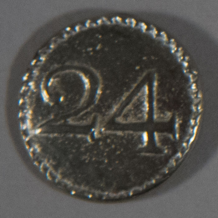 24th Regiment, Pewter, 3/4""