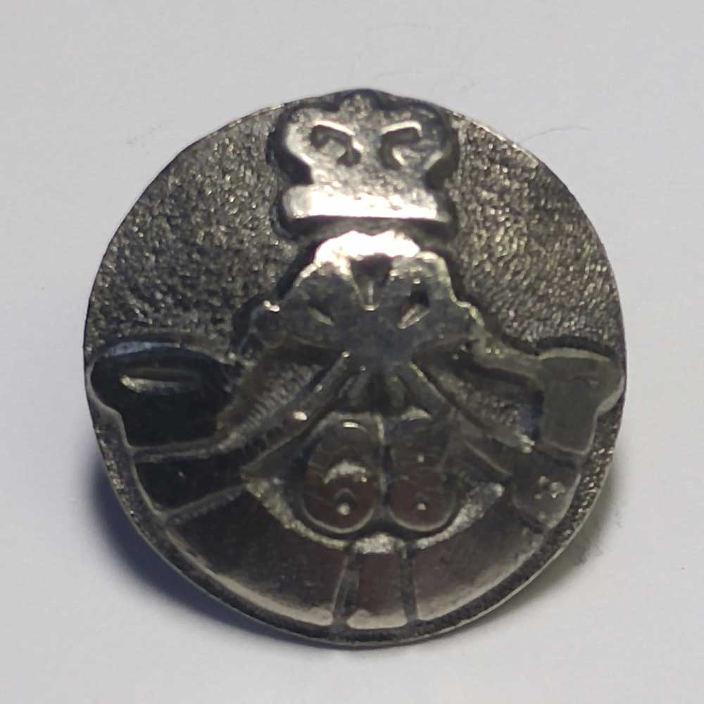 68th Durham Light Infantry, Pewter, 11/16""
