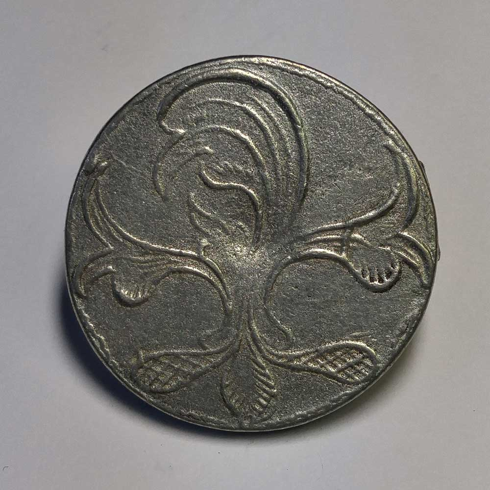 Celtic Pattern #1, Pewter, 15/16""