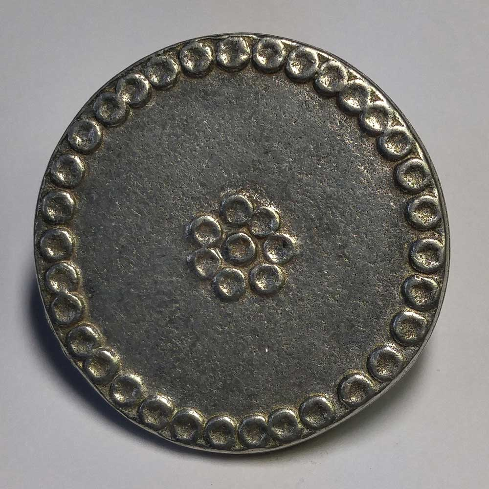 Celtic Pattern #2, Pewter, 11/16""