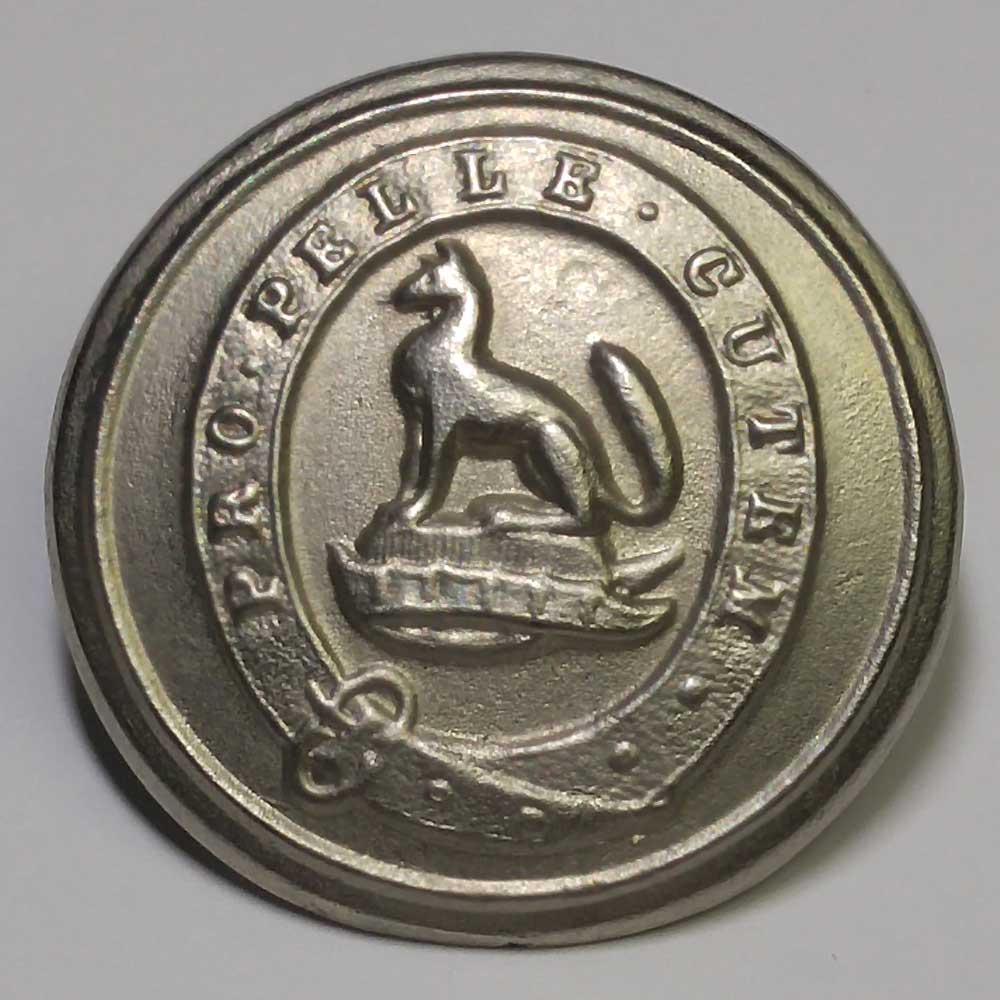 "Hudson Bay Company, Pewter, 25mm (1"")"