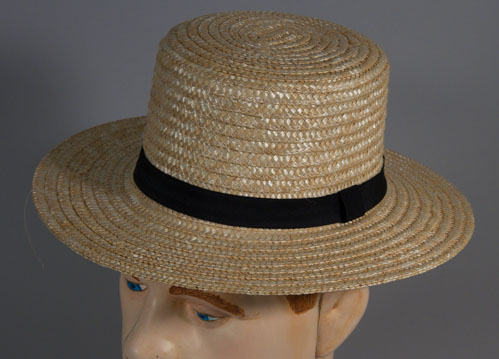 Amish Straw Hat - Child