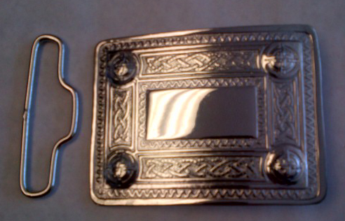 "Buckle Hld. Rect. 63mm (2-1/2"")"