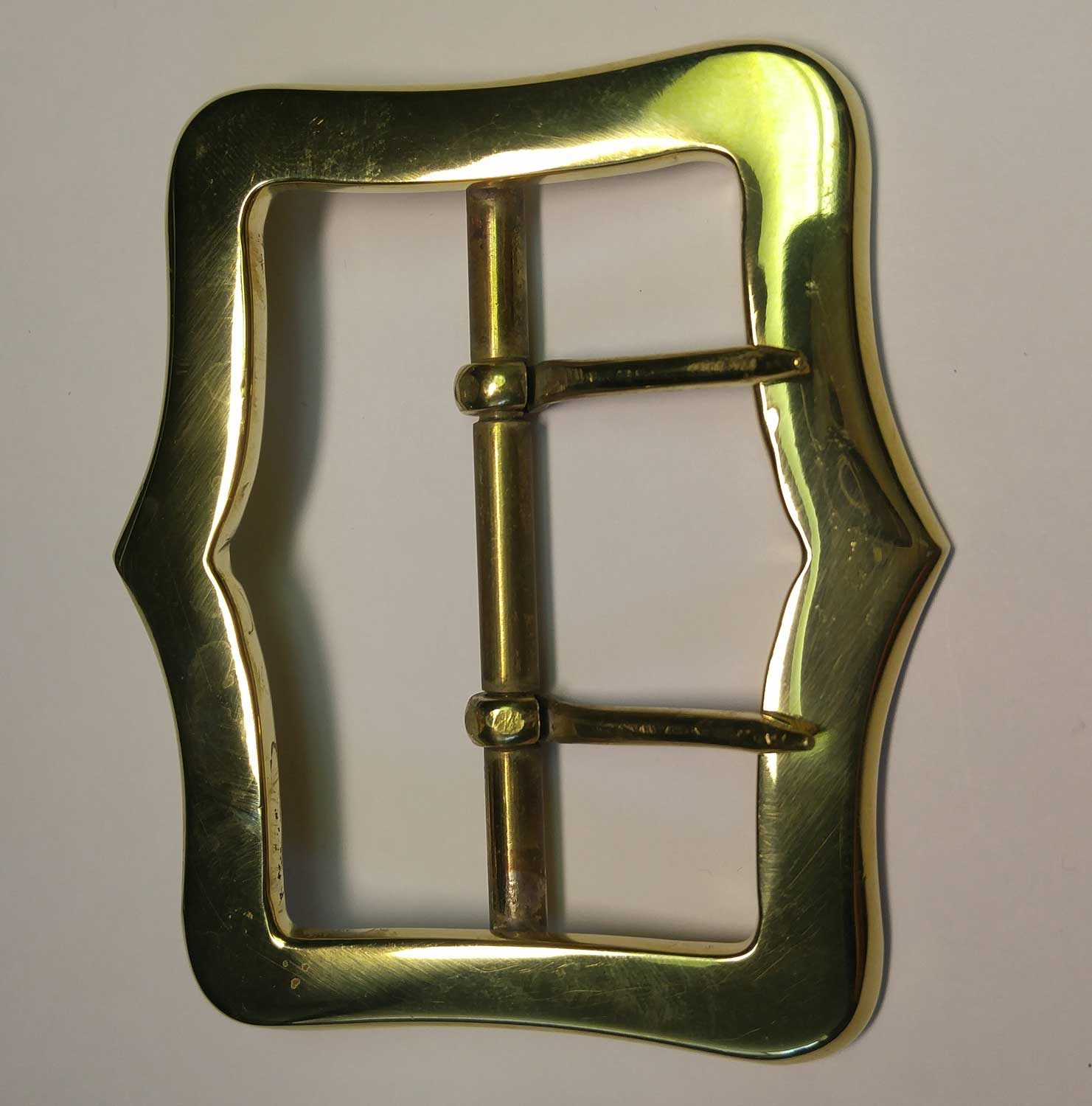 "Buckle, Brass 63mm (2-1/2"")"