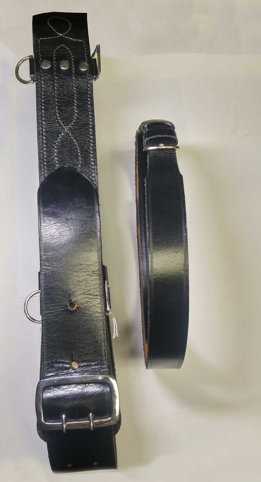 Waist Belt: Sam Brown, Black, (Used)