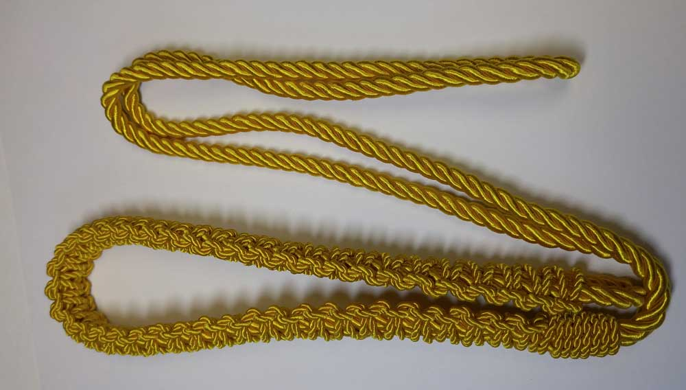 Shoulder Cord, Gold
