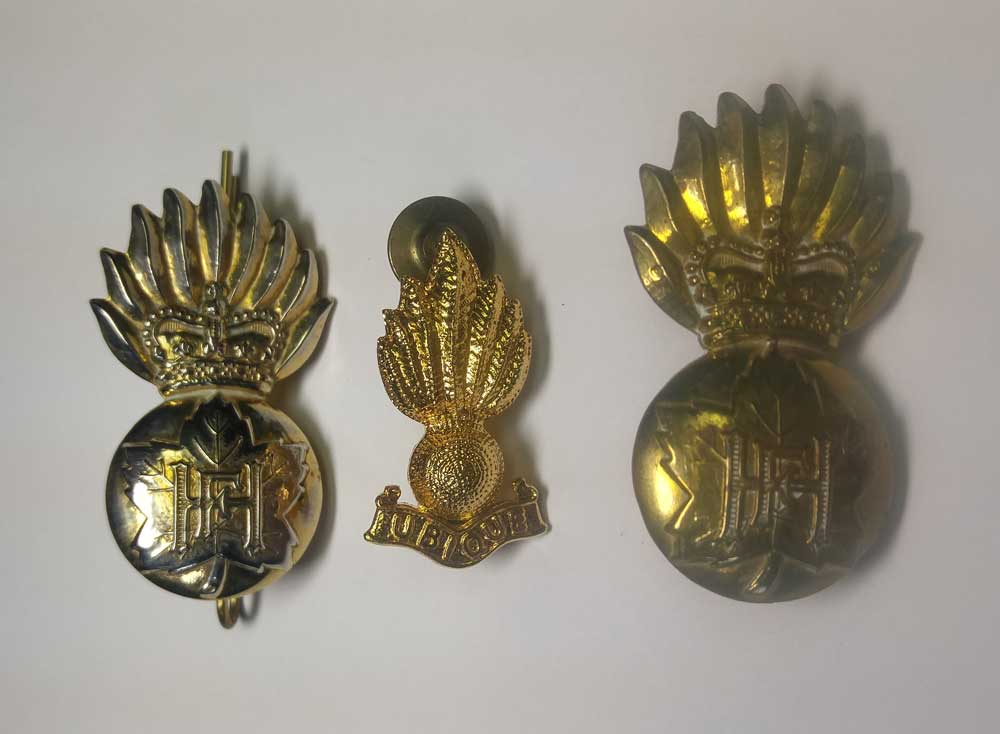 Badge: RHFC, Grenades