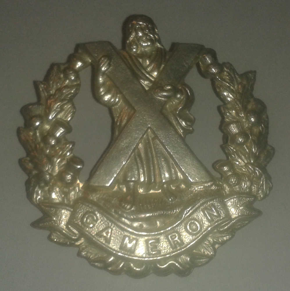 Badge: Cameron Highlanders, Canada