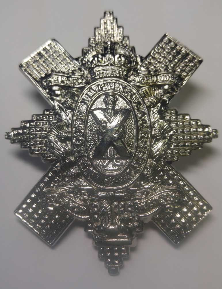 Badge: Black Watch, Cap