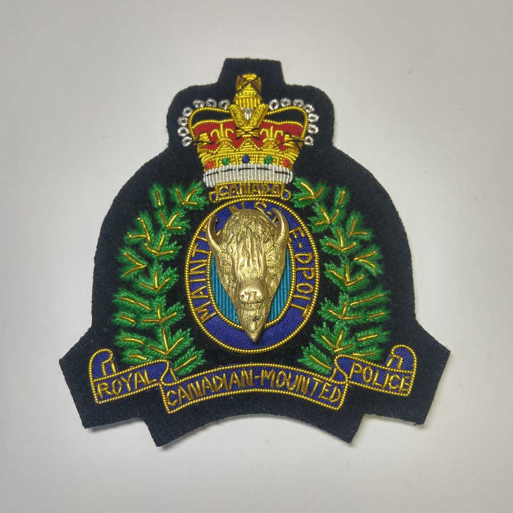 Crest: Royal Canadian Mounted Police