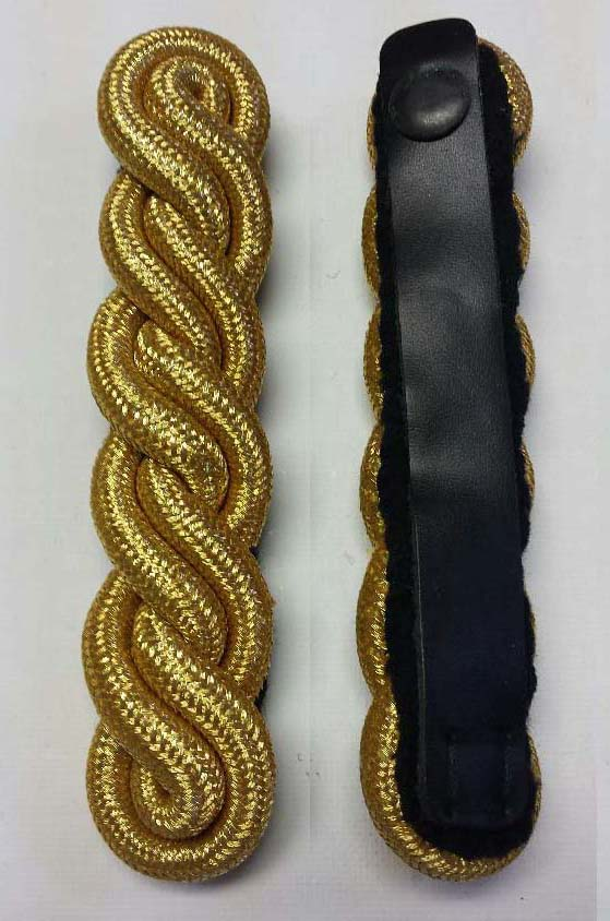 "Shoulder Twist, Gold, 127mm (5"")"