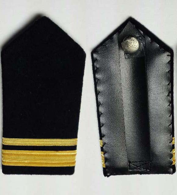 "Shoulder Board (hard), Sub-Lieutenant, 152mm (6"")"