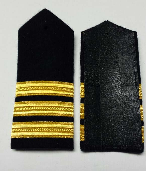 "Shoulder Board (hard), Commander, 152mm (6"")"