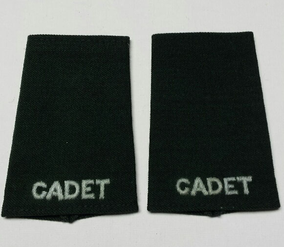 "Shoulder Board (soft), Cadet, 95mm (3-3/4"")"