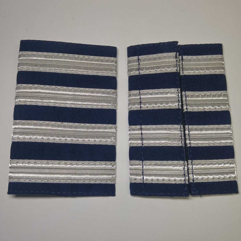 Shoulder Board: Captain, (Soft), 4-1/4""