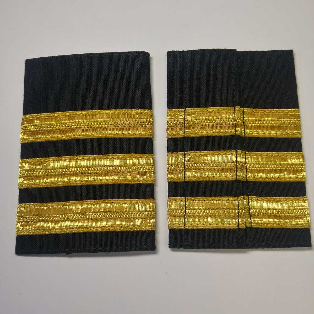 Shoulder Board: Commander, (Soft), 4-1/4""