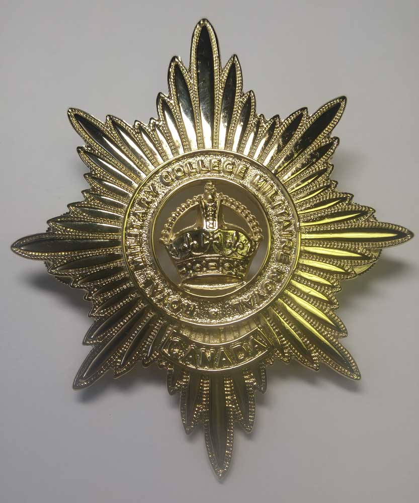 Plate: Helmet, Royal Military College, Canada