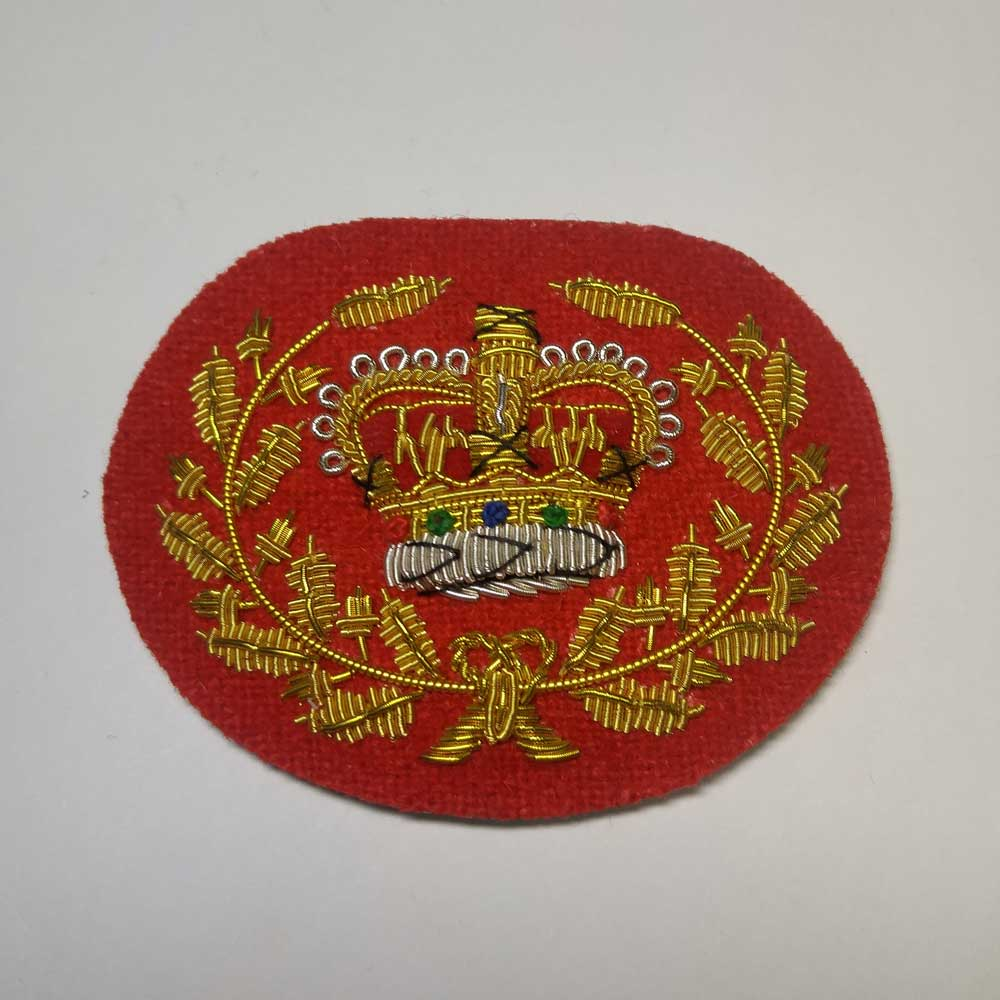 Crown & Wreath: Master Warrant Officer