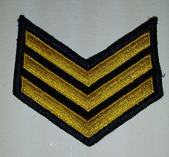 Sgt., Bullion (dark blue)