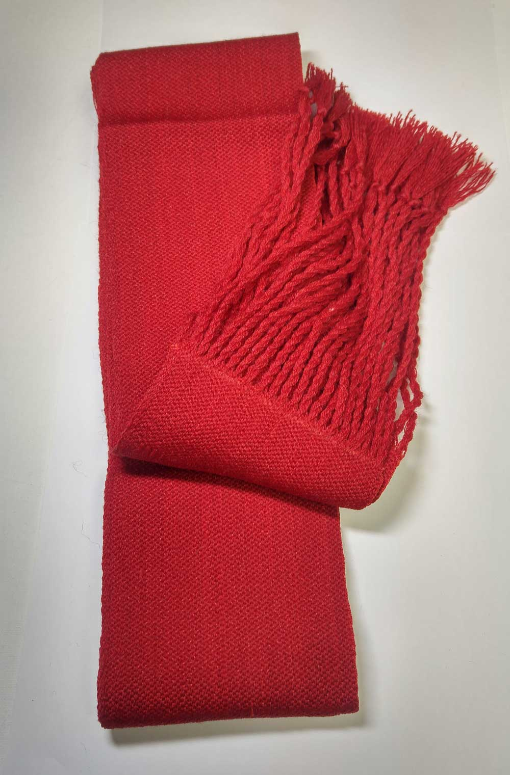 Sash: Sgt., Solid Red, 8/19C