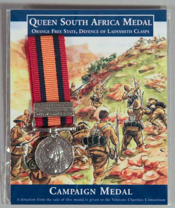 Medal: Queen's South Africa